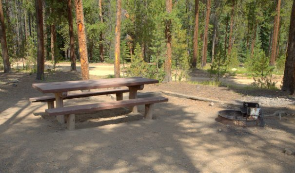 workcamping as a campground host in a national forest. Black Bedroom Furniture Sets. Home Design Ideas
