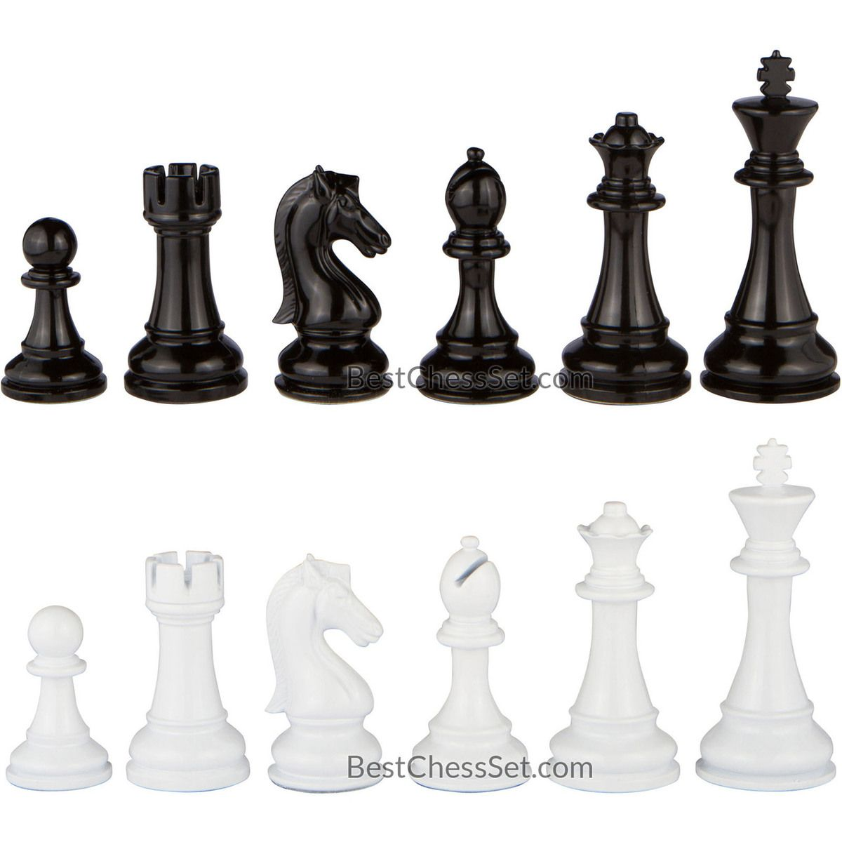 Steel Chess Pieces Review Minerva Black And White Extra Heavy Metal Chess