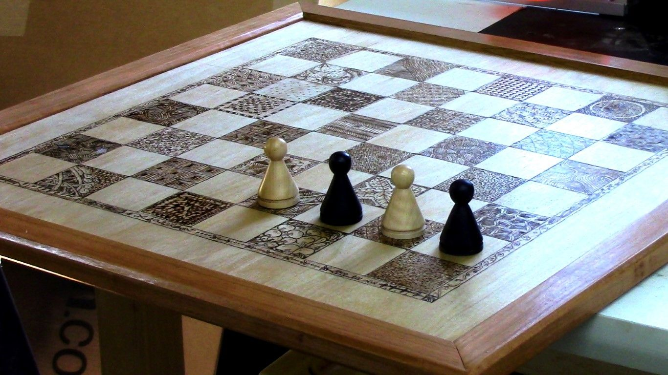 Diy Wood Chess Board Making Your Own Chess Set Chess
