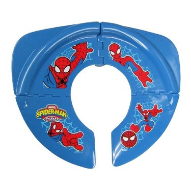 Spiderman Folding Potty Seat, Red Blue reviews in Baby Bathroom