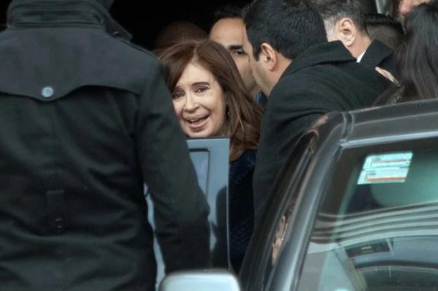 La ex presidenta y senadora Cristina Kirchner. al tope en la intención de voto entre los peronistas.