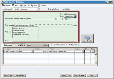 Recording Infrequent Transactions in QuickBooks | Foster Tax Service