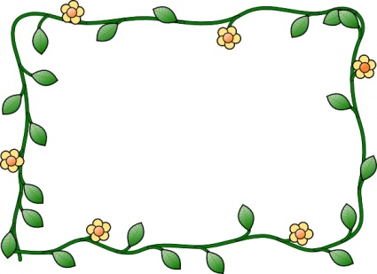 Flower Border for Word Document Clip Art Download 1,000 clip arts