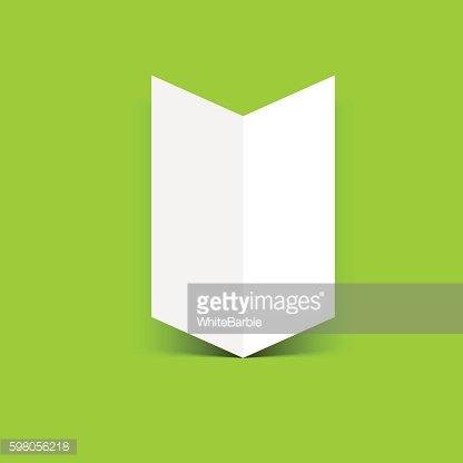 Two Fold Brochure Leaflet premium clipart - ClipartLogo - two fold brochure