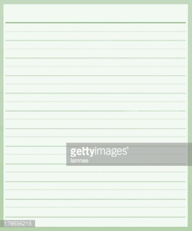 Color Lined Paper oakandale