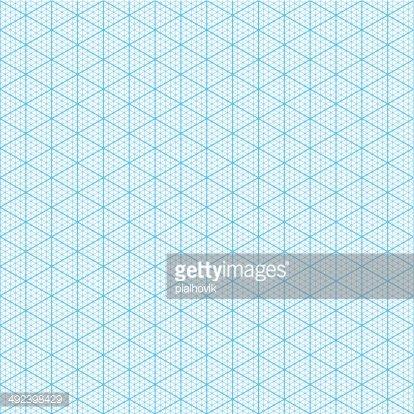 Isometric Graph Paper premium clipart - ClipartLogo