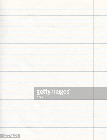 Notebook Lined Paper Background premium clipart - ClipartLogo