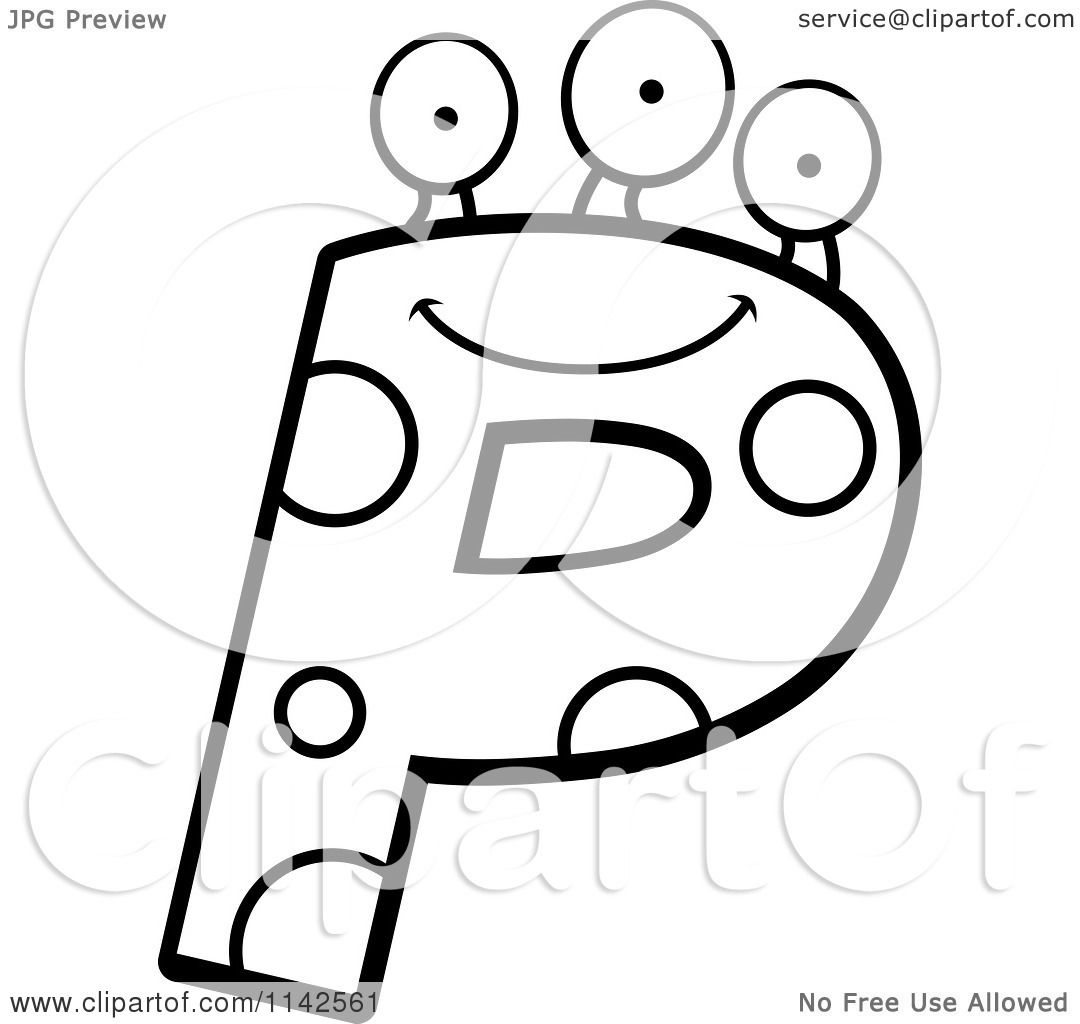 p sound coloring pages