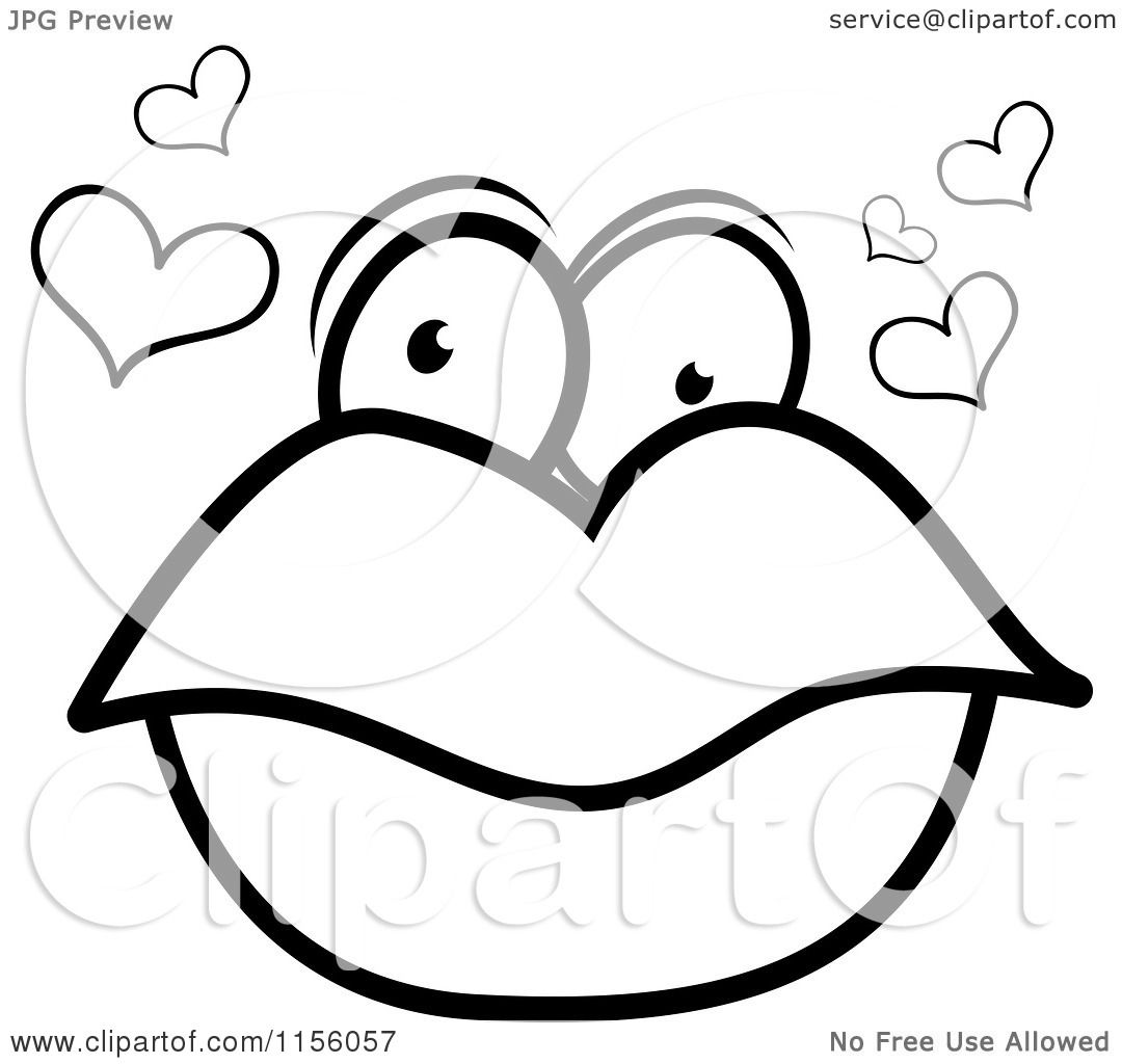 Coloring Pages Lips