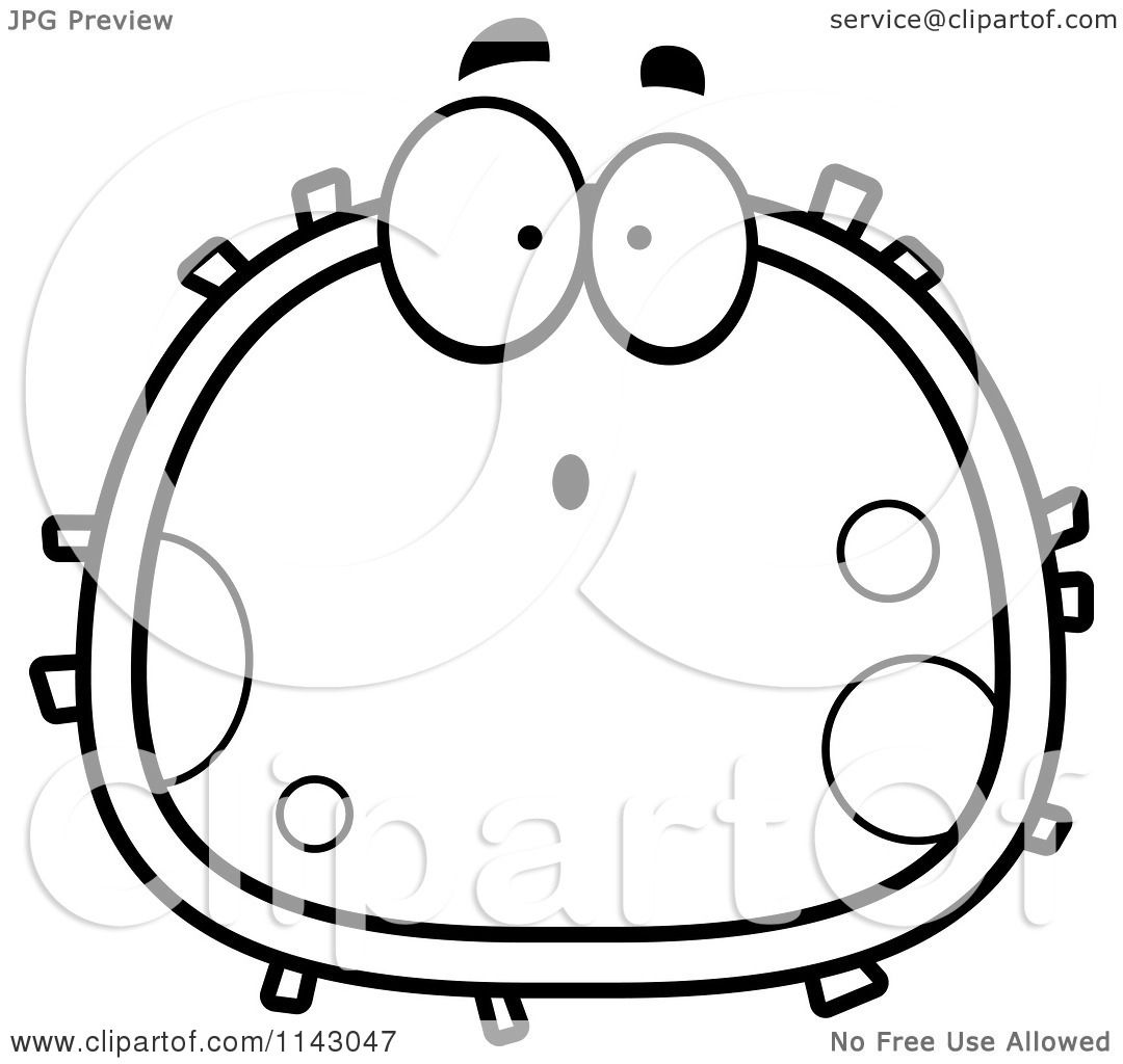 Coloring Pages Blood Answer Key Black And White Surprised Cell Vector Download