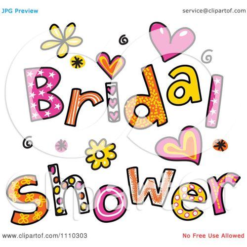 Medium Crop Of Bridal Shower Clipart