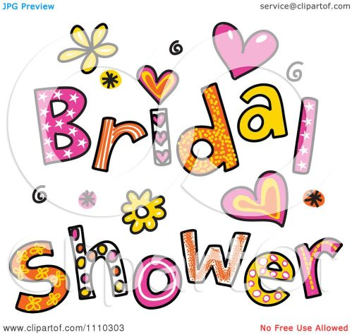 Medium Of Bridal Shower Clipart