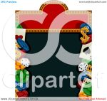 Playing Cards Dice Poker Chips Clip Art