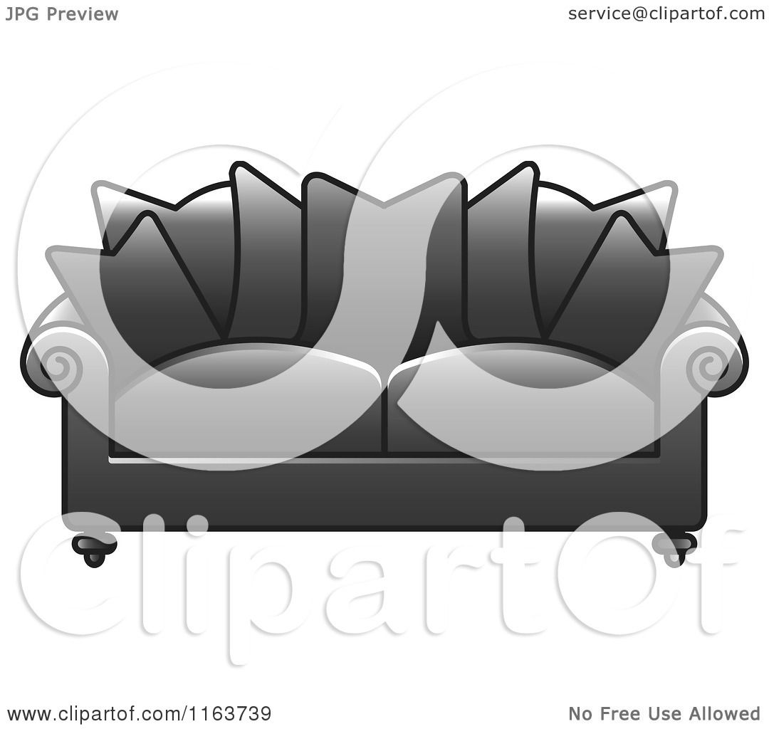 Free Living Room Background Clipart 736 484 Jpeg Clip Art Grey Sofa
