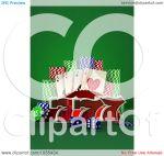 Casino Poker Chips Clip Art