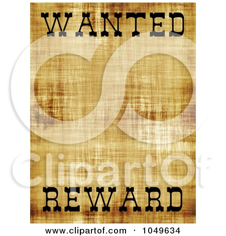wanted poster in word