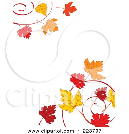 Fall Schoolhouse Wallpaper Royalty Free Rf Clipart Illustration Of A Border Of