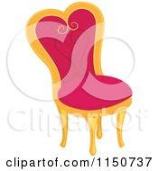 Clipart Princess Kissing A Frog - Royalty Free Vector ...