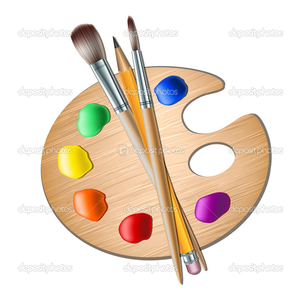 Malerpinsel Clipart Artist Paint Brush Vector Clipart Panda Free Clipart
