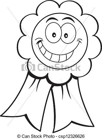 Award Ribbon Clipart Black And White Clipart Panda - Free Clipart