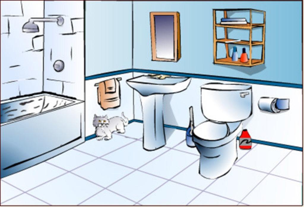 badezimmer clipart | node2010-hausdesign.paasprovider.com
