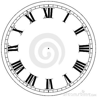 Blank Clock Template Clipart Panda - Free Clipart Images - clock templates