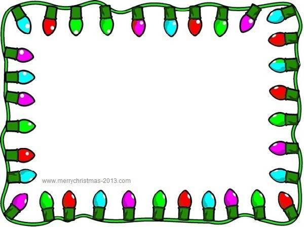Christmas Border Clip Art Clipart Panda - Free Clipart Images