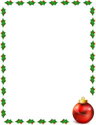 Christmas Clip Art Borders For Word Documents Clipart Panda - Free