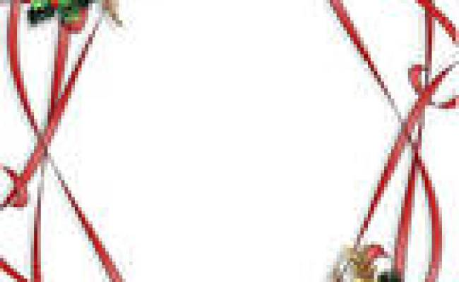 Christmas Ribbon Border Clipart | Clipart Panda Free Clipart Images