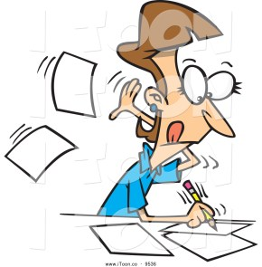 Author Cartoon