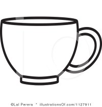 Plastic Cup Clipart Black And White   Clipart Panda - Free ...