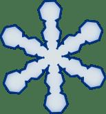 Simple Snowflake Clip Art