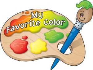 Favorite Color Clip Art