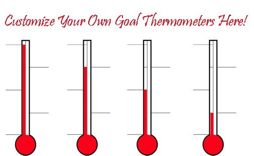 Fundraising Thermometer Printable Clipart Panda - Free Clipart Images