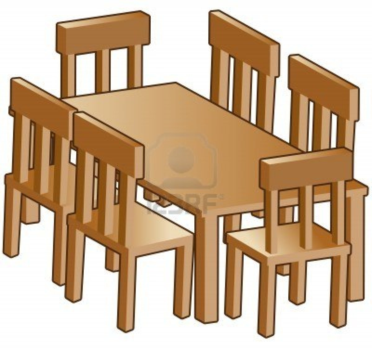 Dining Room Furniture Images Furniture Clip Art For Floor Plans Free Clipart Panda