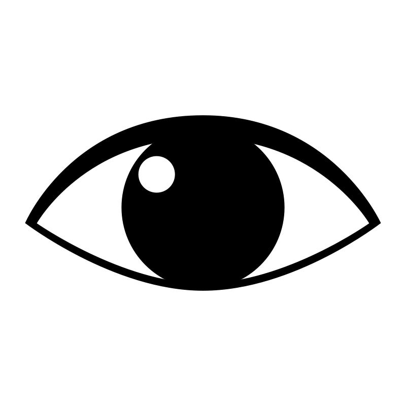 Human Eye Clip Art Eye Clip Art Black And White