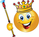 King Smiley Face Clip Art