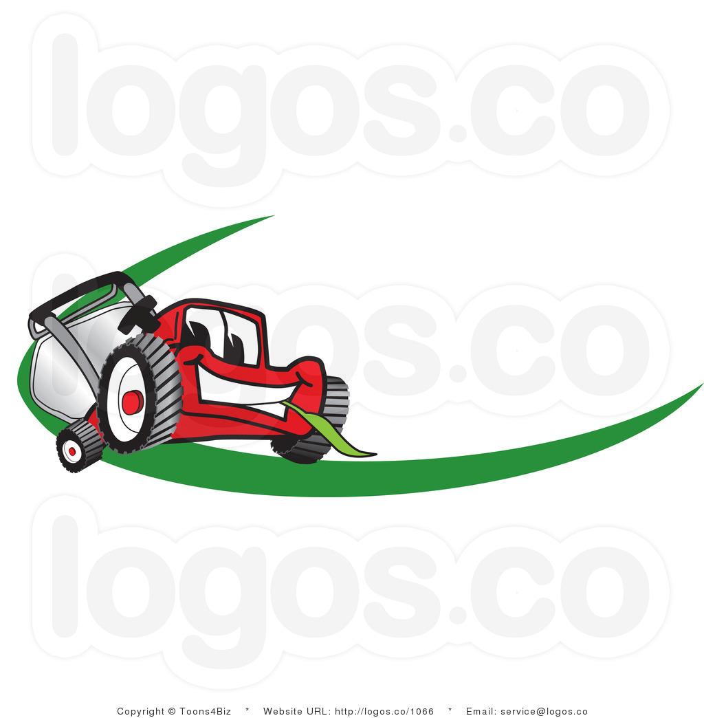 lawn mower logo clip art