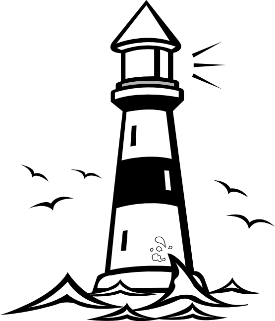 Pin black and white lighthouse tattoo on pinterest