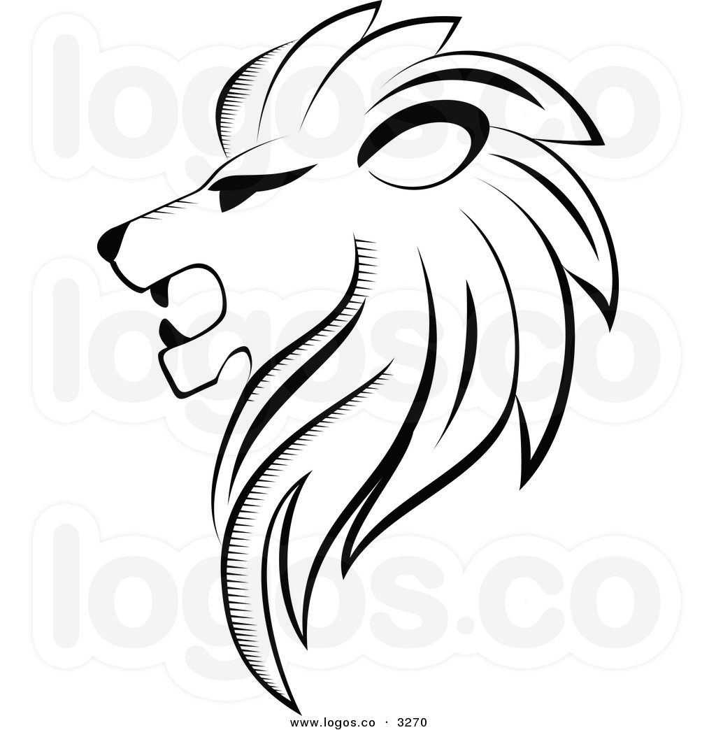 Roaring Lion Clip Art Black And White Roaring Lion Black And White Clipart Panda Free