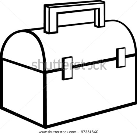 Lunch Box Coloring Page Clipart Panda - Free Clipart Images