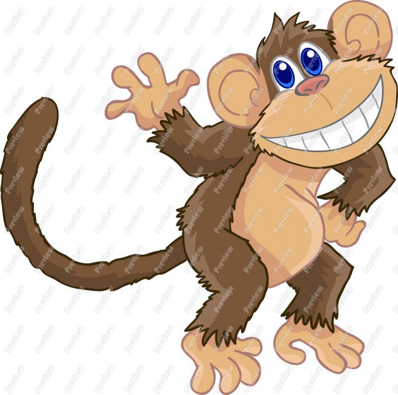 Monkey Clip Art Printables Clipart Panda - Free Clipart Images