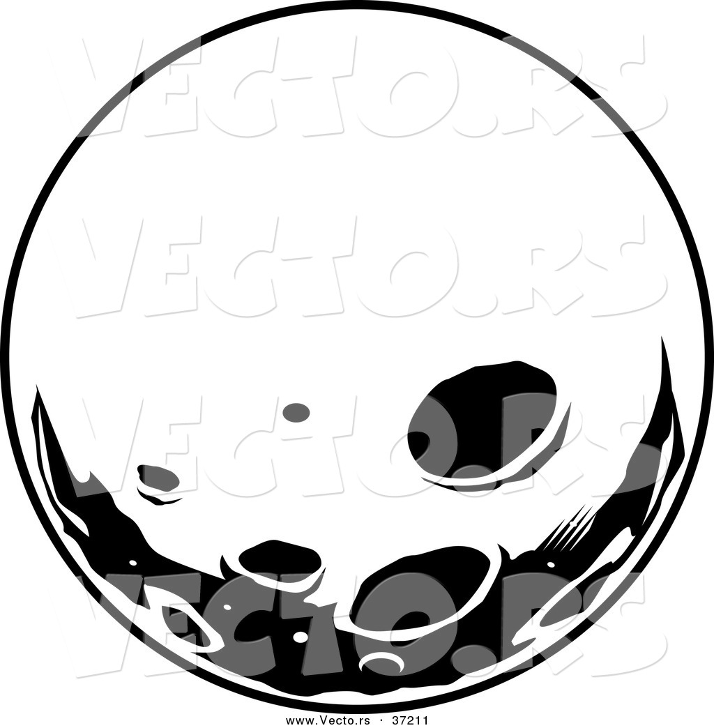 Full Moon Drawing Black And White Full Moon Clipart Black And White Clipart Panda Free
