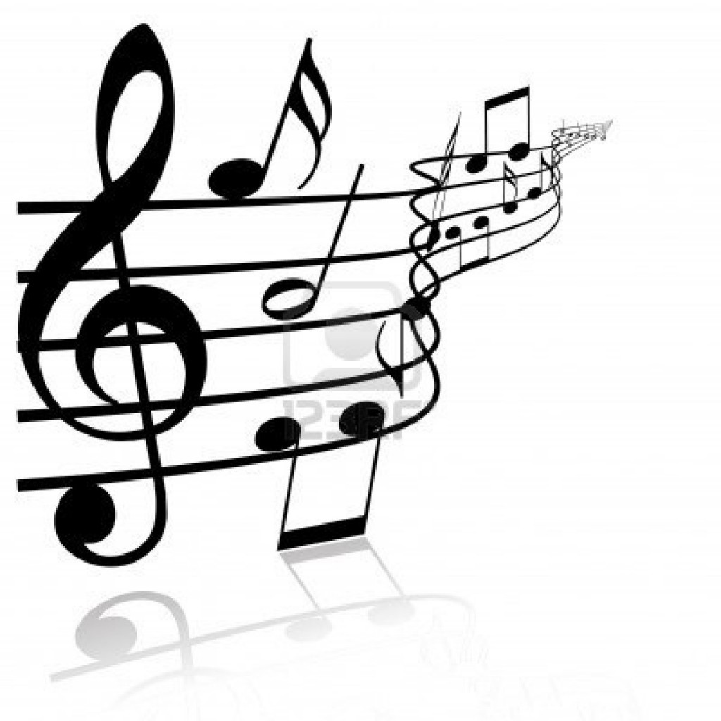 Music Themed Artwork Music Notes Black And White Clipart Panda Free Clipart