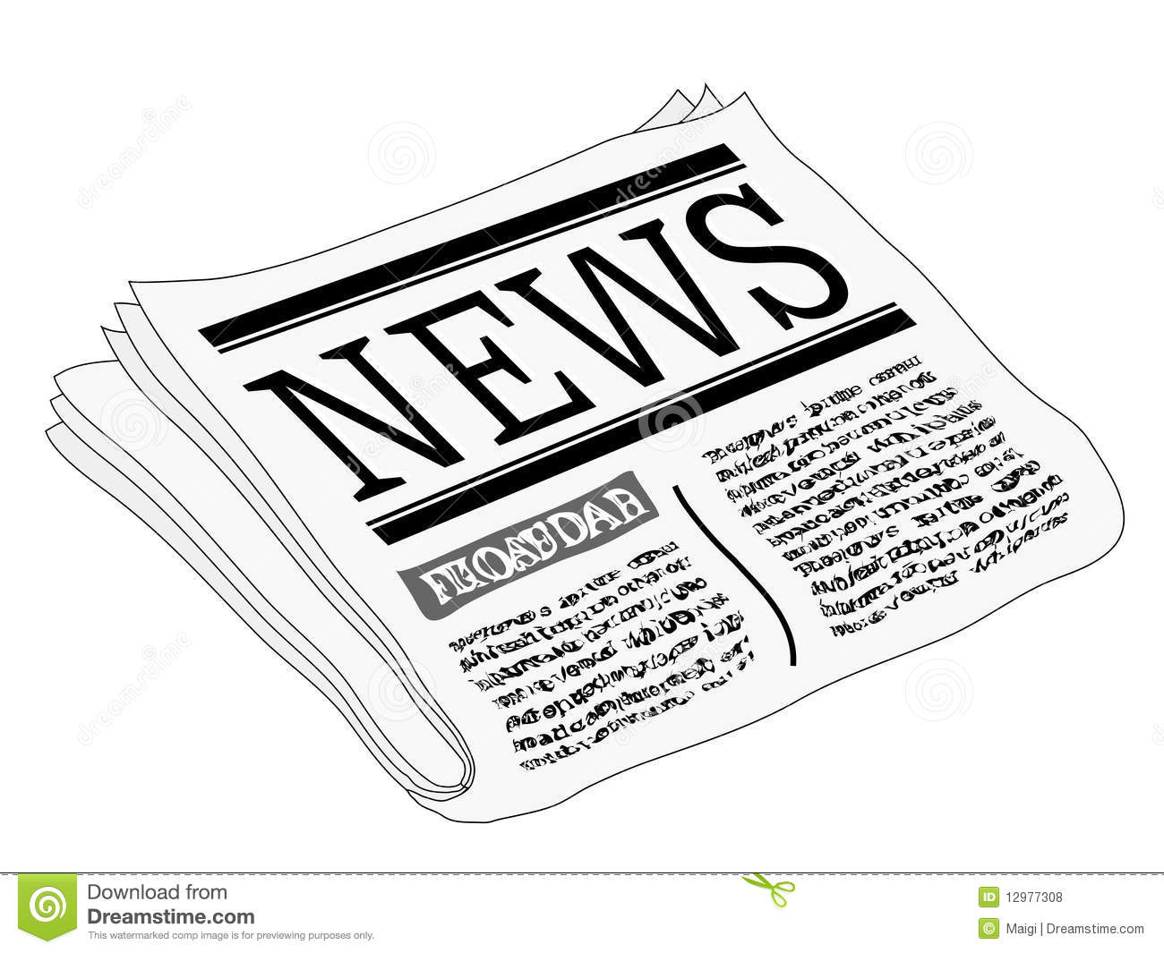 Newspaper Clipart Clipart Panda Free Clipart Images