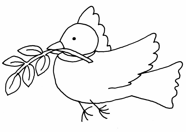 Dove Coloring Pages - Eskayalitim