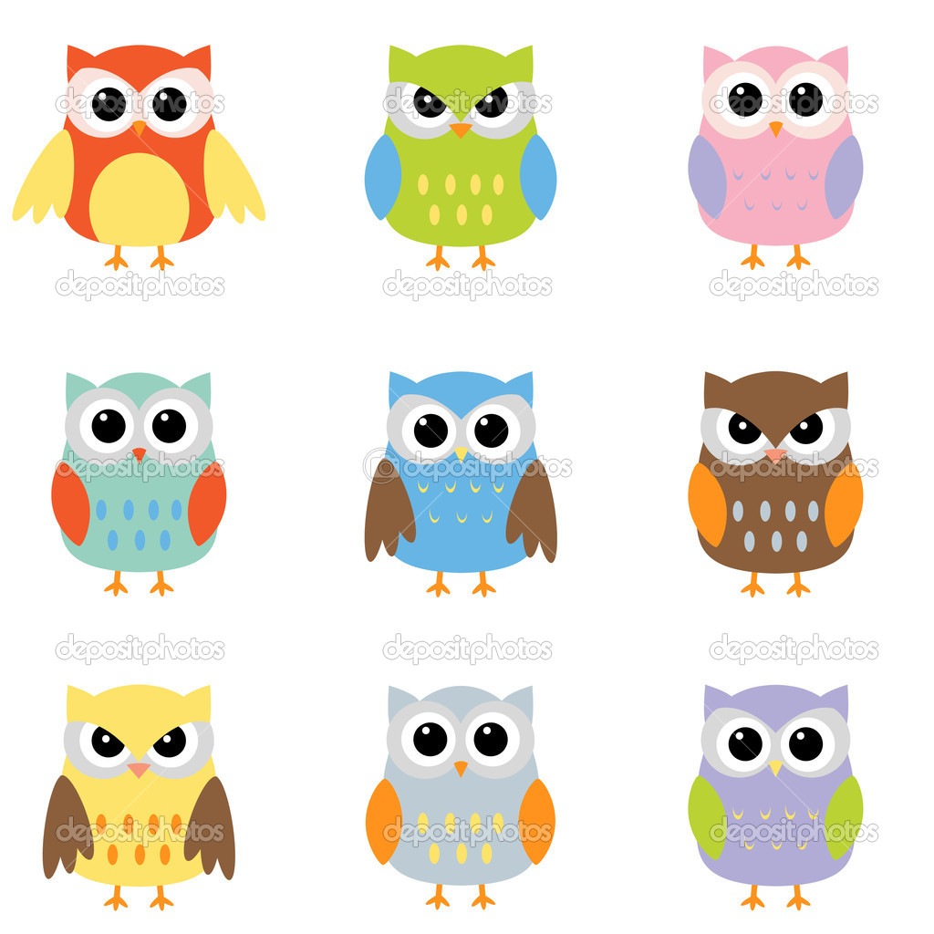 Colorful Pictures Of Owls Owl Clipart Cute Free Clipart Panda Free Clipart Images
