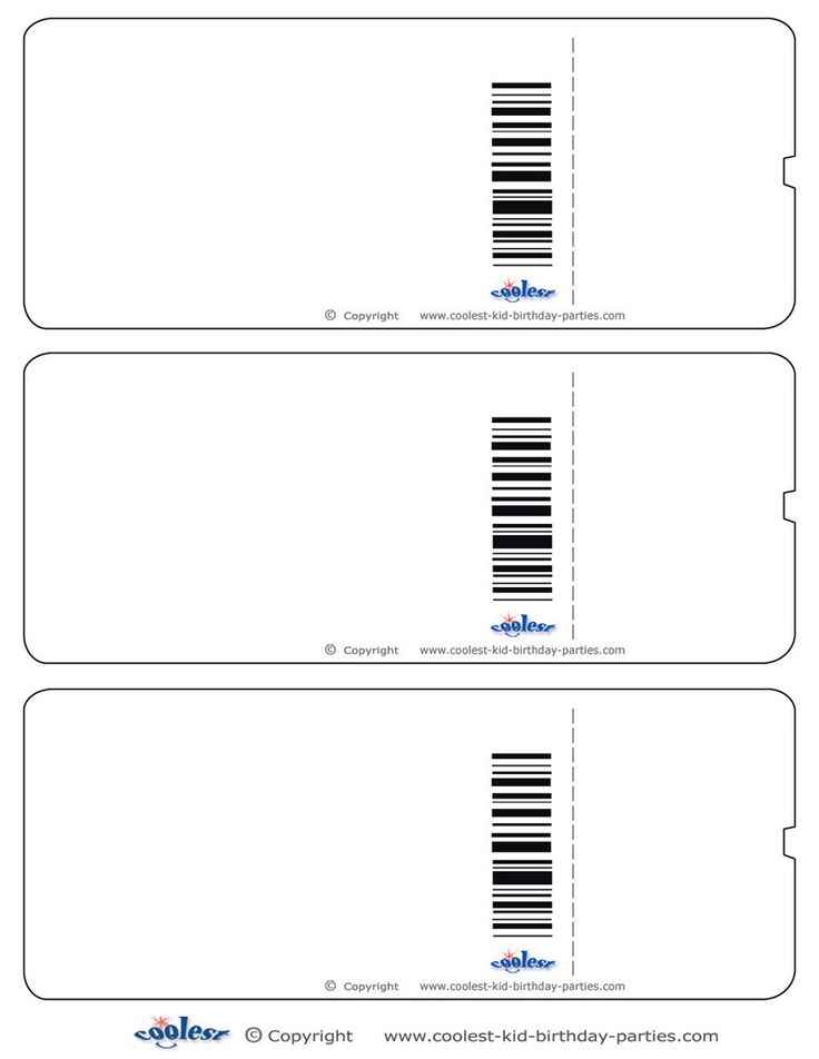Boarding Pass Template, Clipart Panda - Free Clipart Images