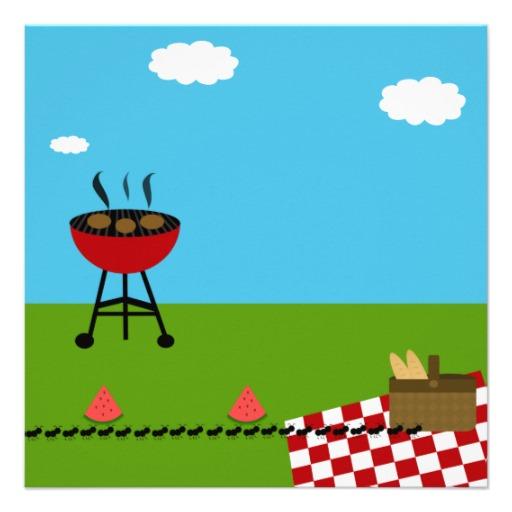 bbq picnic invitation template free