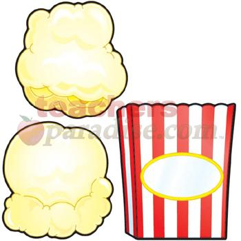 Piece Of Popcorn Clipart Clipart Panda - Free Clipart Images